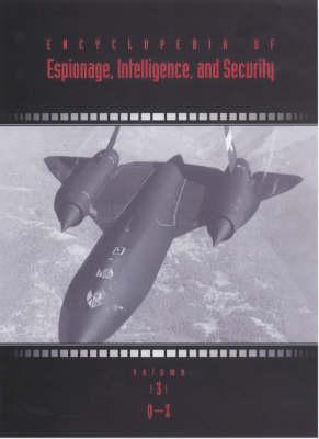 Encyclopedia of Espionage, Intelligence and Security (Hardback)