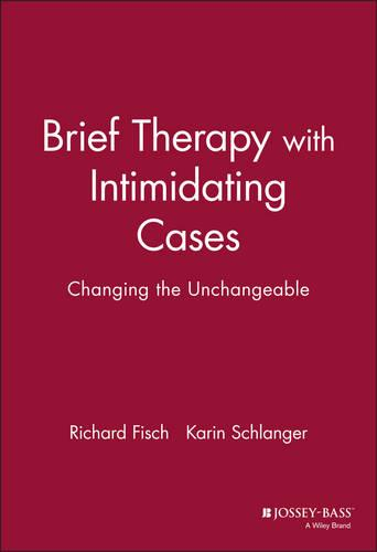 Brief Therapy with Intimidating Cases: Changing the Unchangeable (Hardback)