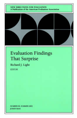 Evaluation Findings That Surprise: New Directions for Evaluation, Number 90 - J-B PE Single Issue (Program) Evaluation (Paperback)