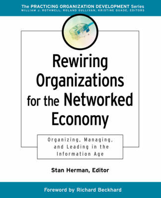 Rewiring Organizations for the Networked Economy: Organizing, Managing, and Leading in the Information Age - J-B O-D (Organizational Development) (Paperback)