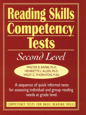 Reading Skills Competency Tests: Second Level - J-B Ed: Ready-to-Use Activities (Paperback)