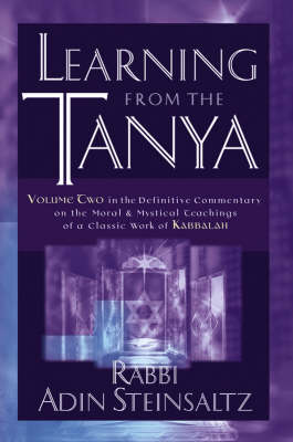 Learning from the Tanya (Hardback)