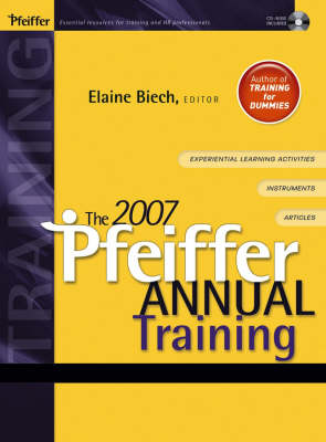 The 2007 Pfeiffer Annual: Training - J-B Pfeiffer Annual