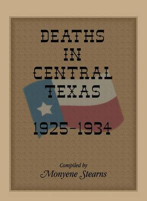 Deaths in Central Texas, 1925-1934 (Paperback)