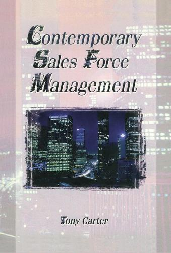Contemporary Sales Force Management (Hardback)
