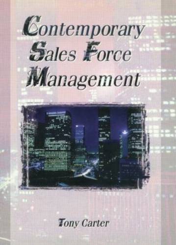 Contemporary Sales Force Management (Paperback)