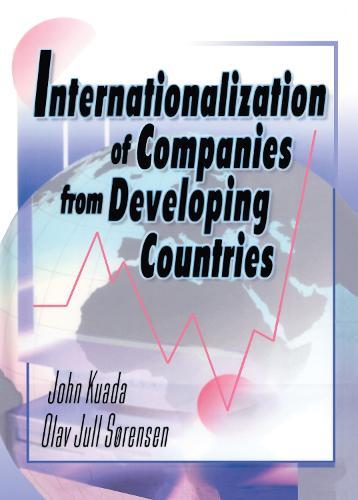 Internationalization of Companies from Developing Countries (Hardback)