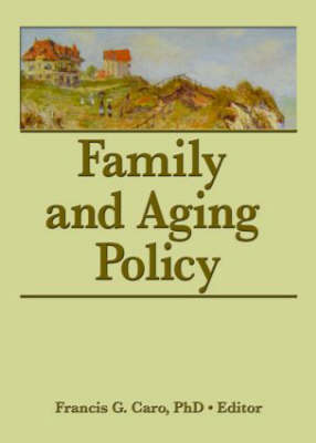 Family and Aging Policy (Paperback)