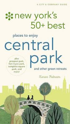 New York's 50 Best Places to Discover and Enjoy Central Park (Paperback)