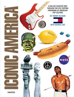 Iconic America: A Roller Coaster Ride Through the Eye-Popping Panorama of American Pop Culture (Hardback)