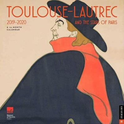 Calendrier Om 2020 16.Toulouse Lautrec And The Stars Of Paris 2019 2020 16 Month Square Wall Calendar By Museum Of Fine Arts Boston Waterstones