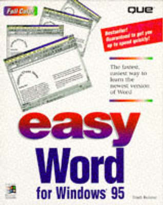 Easy Word for Windows 95 (Paperback)