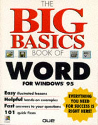 The Big Basics Book of Word for Windows 95 (Paperback)