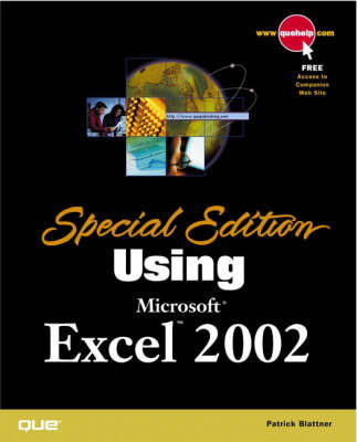 Special Edition Using Microsoft Excel 2002 (Paperback)