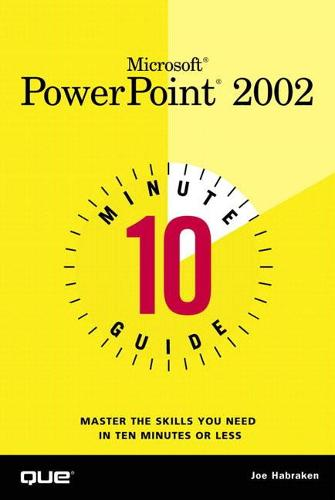 10 Minute Guide to Microsoft PowerPoint 2002 (Paperback)