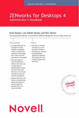 Novell ZENworks for Desktops 4 Administrator's Handbook (Paperback)