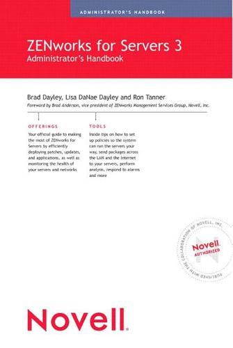 Novell ZENworks for Servers 3 Administrator's Handbook (Paperback)