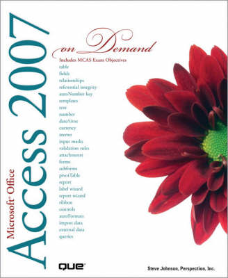 Microsoft Office Access 2007 On Demand (Paperback)
