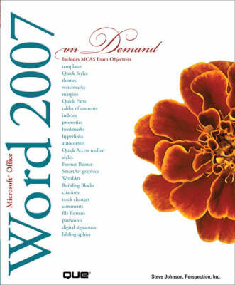 Microsoft Office Word 2007 on Demand (Paperback)