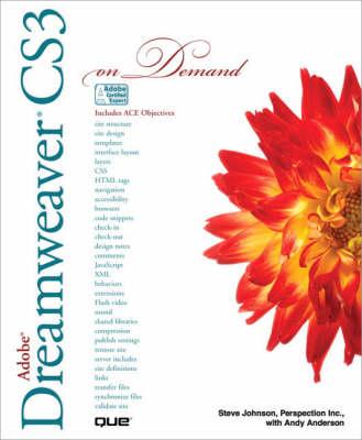 Adobe Dreamweaver CS3 on Demand (Paperback)