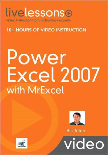 Power Excel 2007 with MrExcel (Video Training)