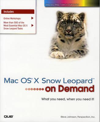 Mac OS X Snow Leopard on Demand (Paperback)