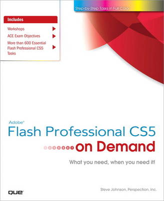 Adobe Flash Professional CS5 on Demand (Paperback)
