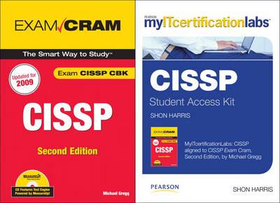 Cissp Exam Cram With Myitcertificationlab Bundle By Michael Gregg