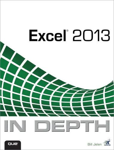 Excel 2013 In Depth (Paperback)