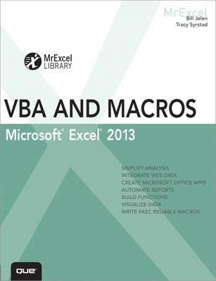 Excel 2013 VBA and Macros (Paperback)