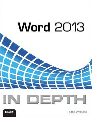 Word 2013 In Depth (Paperback)