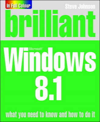 Brilliant Windows 8.1 (Paperback)