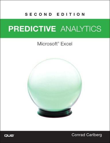 Predictive Analytics: Microsoft (R) Excel 2016 (Paperback)