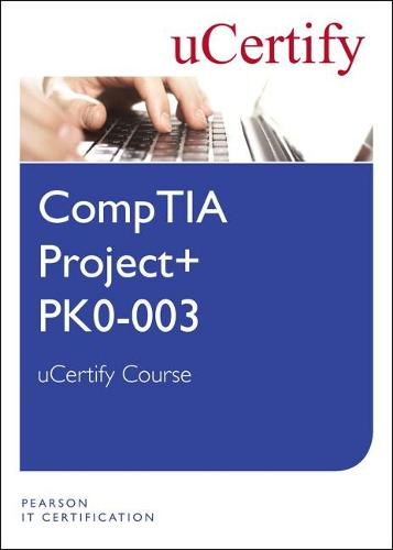 Cover CompTIA Project+ PK0-003 uCertify Course Student Access Card