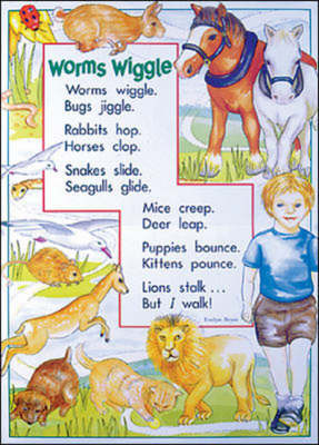 Set D: Animal Antics: Emergent Posters and Poems - Literacy links plus posters & poems for shared reading