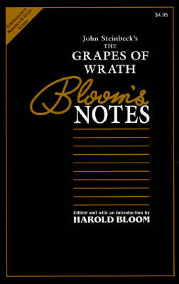 "John Steinbeck's ""Grapes of Wrath"" - Bloom's Notes (Paperback)"