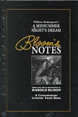 "William Shakespeare's """"A Midsummer Night's Dream - Bloom's Notes (Hardback)"