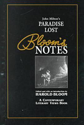 "John Milton's """"Paradise Lost - Bloom's Notes (Hardback)"