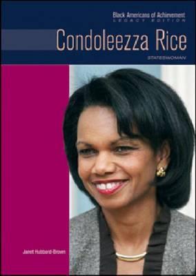Condoleezza Rice: Stateswoman (Hardback)