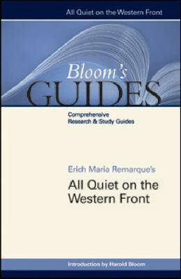 All Quiet on the Western Front - Bloom's Guides (Hardback)
