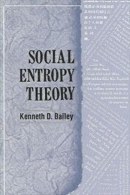 Social Entropy Theory (Paperback)