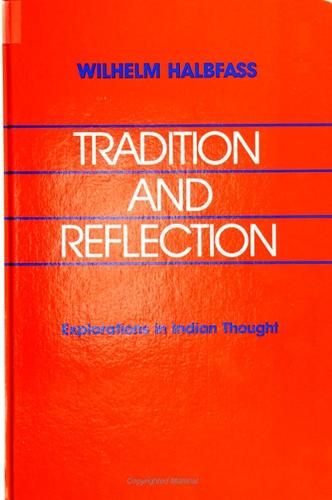 Tradition and Reflection: Explorations in Indian Thought (Paperback)