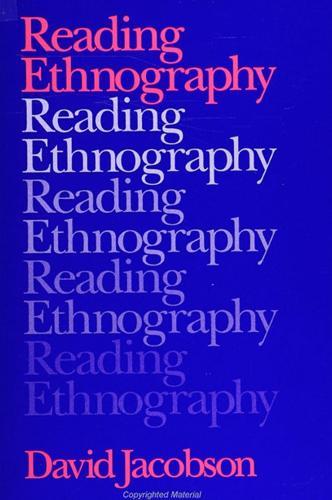 Reading Ethnography (Paperback)