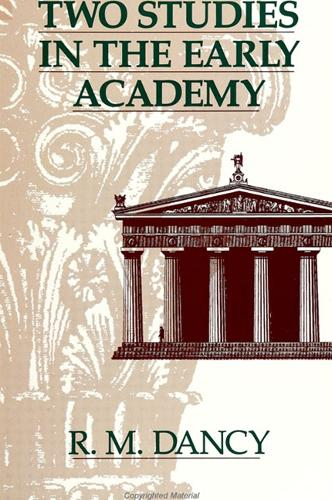 Two Studies in the Early Academy - SUNY series in Ancient Greek Philosophy (Paperback)