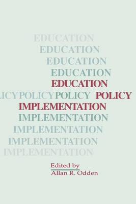 Education Policy Implementation - SUNY series, Educational Leadership (Paperback)