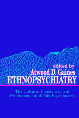 Ethnopsychiatry: The Cultural Construction of Professional and Folk Psychiatries - SUNY series in Medical Anthropology (Paperback)