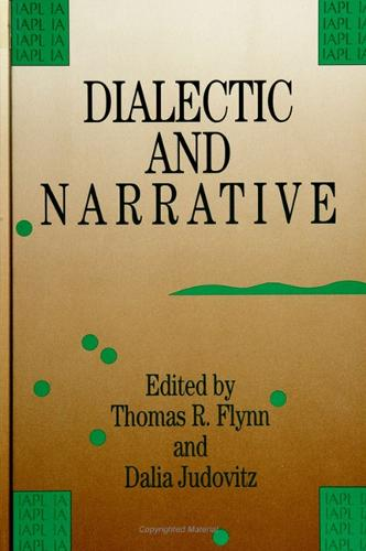 Dialectic and Narrative - SUNY Series in Contemporary Studies in Philosophy and Literature (Paperback)