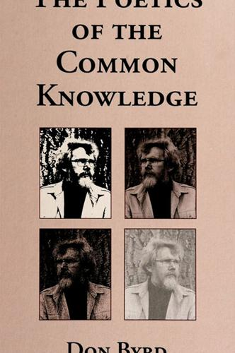 The Poetics of the Common Knowledge - SUNY series, The Margins of Literature (Paperback)