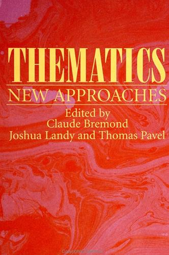 Thematics: New Approaches - SUNY series, The Margins of Literature (Paperback)