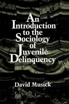An Introduction to the Sociology of Juvenile Delinquency (Paperback)